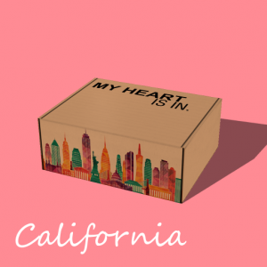 M Heart Is In - California Gift Box
