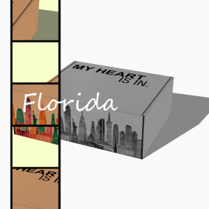 My Heart Is In - Florida Gift Box R