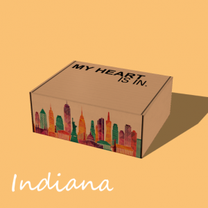 My Heart Is In - Indiana Gift Box