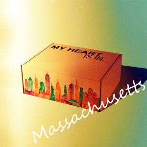 My Heart Is In - Massachusetts Gift Box R