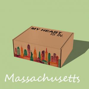 My Heart Is In - Massachusetts Gift Box