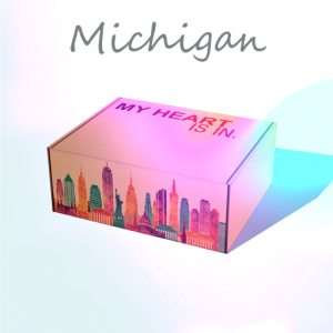 My Heart Is In - Michigan Gift Box R