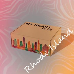 My Heart Is In - Rhode Island Gift Box R
