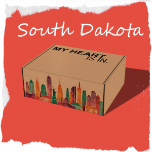 My Heart Is In - South Dakota Gift Box R
