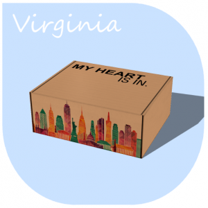 My Heart Is In - Virginia Gift Box R