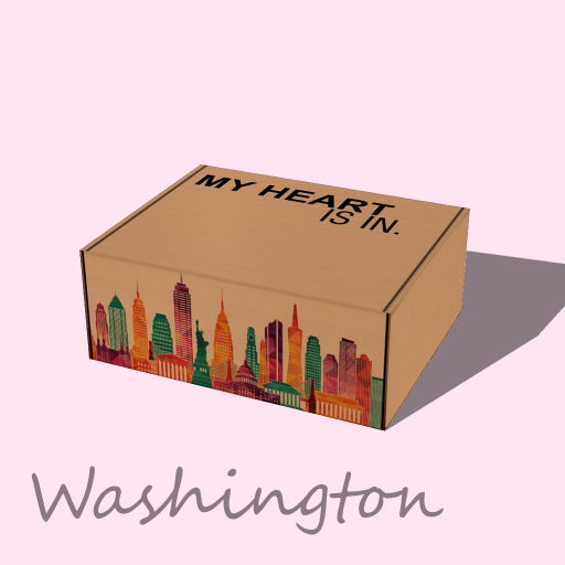 My Heart Is In - Washington Gift Box