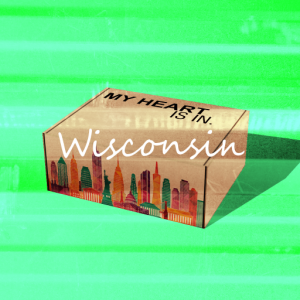 My Heart Is In - Wisconsin Gift Box R